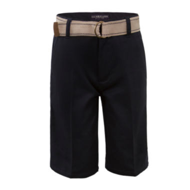jcpenney.com | U.S. Polo Assn.® Belted Shorts - Boys 8-16