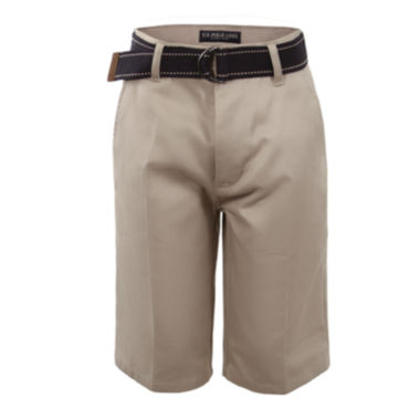 jcpenney.com | U.S. Polo Assn.® Belted Shorts - Preschool Boys 4-7