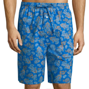 jcpenney.com | Stafford® Woven Pajama Shorts - Big & Tall