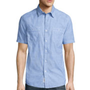 Lee® Short-Sleeve Breezy Pocket Button-Front Shirt
