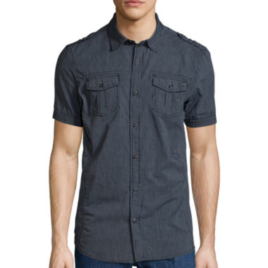 jcpenney.com | I Jeans By Buffalo Short-Sleeve Denim Shirt