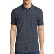 I Jeans By Buffalo Short-Sleeve Denim Shirt