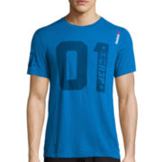 Reebok® Short-Sleeve One Series Triblend Tee