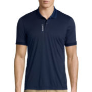 Reebok® Workout Ready TECH Short-Sleeve Polo