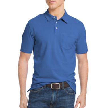 jcpenney.com | IZOD® Short-Sleeve Solid Chatham Pocket Polo Shirt