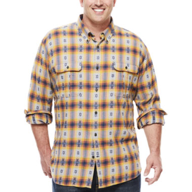 jcpenney.com | The Foundry Big & Tall Supply Co.™ Pocket Work Shirt