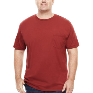 jcpenney.com | The Foundry Big & Tall Supply Co.™ Short-Sleeve Pocket Tee