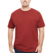 The Foundry Supply Co.™ Short-Sleeve Pocket Tee - Big & Tall