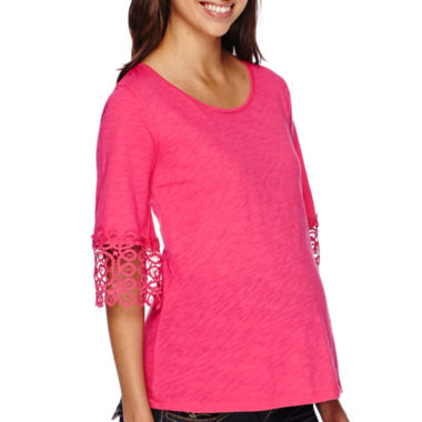 jcpenney.com | Maternity Crochet Cuff High Top-Plus
