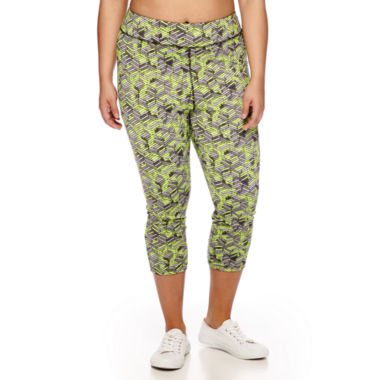 jcpenney.com | City Streets® Performance Cropped Leggings - Juniors Plus