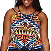 City Streets® Sleeveless Crop Top - Juniors Plus