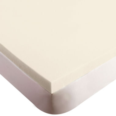 "jcpenney.com | Authentic Comfort® Biofresh® 3"" Memory Foam Mattress Topper"