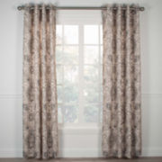 Cadogen Lined Grommet-Top Curtain Panel