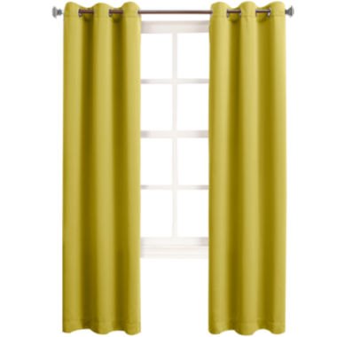 jcpenney.com | Sun Zero™ Talon Room-Darkening Grommet-Top Curtain Panel