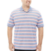The Foundry Supply Co.™ Short-Sleeve Cotton Polo - Big & Tall