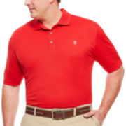 IZOD® Short-Sleeve Grid Golf Polo - Big & Tall