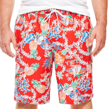 jcpenney.com | The Foundry Supply Co.™ Cargo Swim Trunks - Big & Tall
