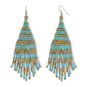 Decree® Beaded Drop Earrings
