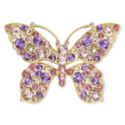 Liz Claiborne® Boxed Butterfly Brooch