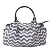 JP Lizzy Allure Chevron Diaper Bag