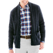 St. John's Bay® Shawl-Collar Cardigan
