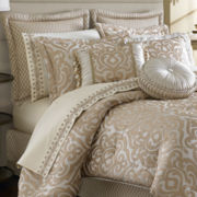 Queen Street® Bernadette Scroll 4-pc. Comforter Set