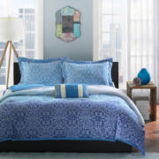 Mi Zone Calypso Medallion Comforter Set