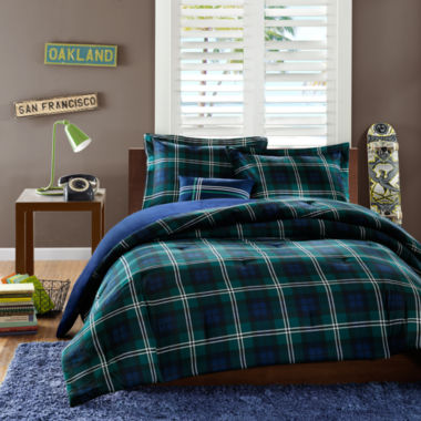 jcpenney.com | Mi Zone Cameron Plaid Comforter Set