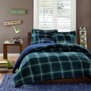 MiZone Cameron Plaid Comforter Set