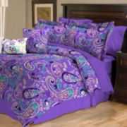 Bethenny Paisley Reversible Comforter Set