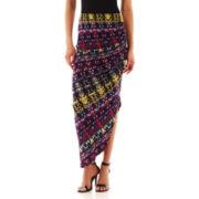 Bisou Bisou® Side-Pleat Maxi Skirt
