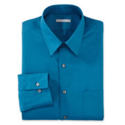 Van Heusen® No-Iron Poplin Fitted Dress Shirt
