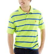 U.S. Polo Assn.® Striped Piqué Polo