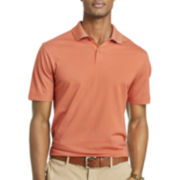 Van Heusen® Feeder-Striped Micropoly Polo