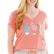 Mixit™ Short-Sleeve Sleep T-Shirt - Plus