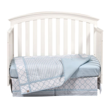 jcpenney.com | Trend Lab® Blue Sky 3-pc. Crib Bedding Set