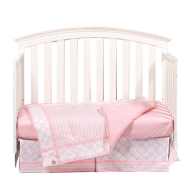jcpenney.com | Trend Lab® Pink Sky 3-pc. Crib Bedding Set