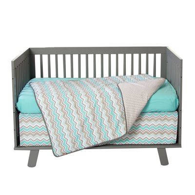 Trend Lab Pc Crib Bedding Set Seashore Waves