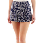 by&by Print Tropical Shorts