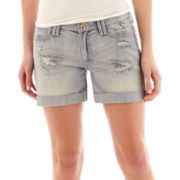 Decree® Boyfriend Denim Shorts