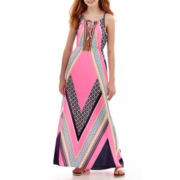 Arizona Placed Print Maxi Dress