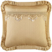 Queen Street® Nottingham Gold Square Decorative Pillow