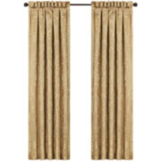 Queen Street® Nottingham Gold 2-Pack Curtain Panels