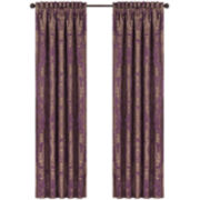 Queen Street® Nottingham Merlot 2-Pack Curtain Panels