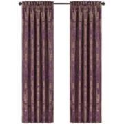 Queen Street® Nottingham Merlot 2-Pack Curtain Panels