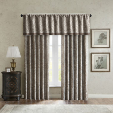 jcpenney.com | Madison Park Whitman 2-Pack Paisley Jacquard Curtain Panels