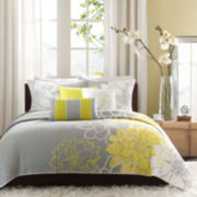 Madison Park Lola Modern 6-pc. Quilt Set