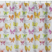Creative Bath™ Flutterby Shower Curtain