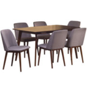 Lowery 7-pc. Dining Set