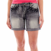 ZCO Scroll Flap-Pocket Shorts - Plus